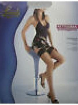 AUTOREGGENTI CALZE RETE DONNA WOMAN LEVANTE ART.RETISSIMA T.1/2 COL.NERO