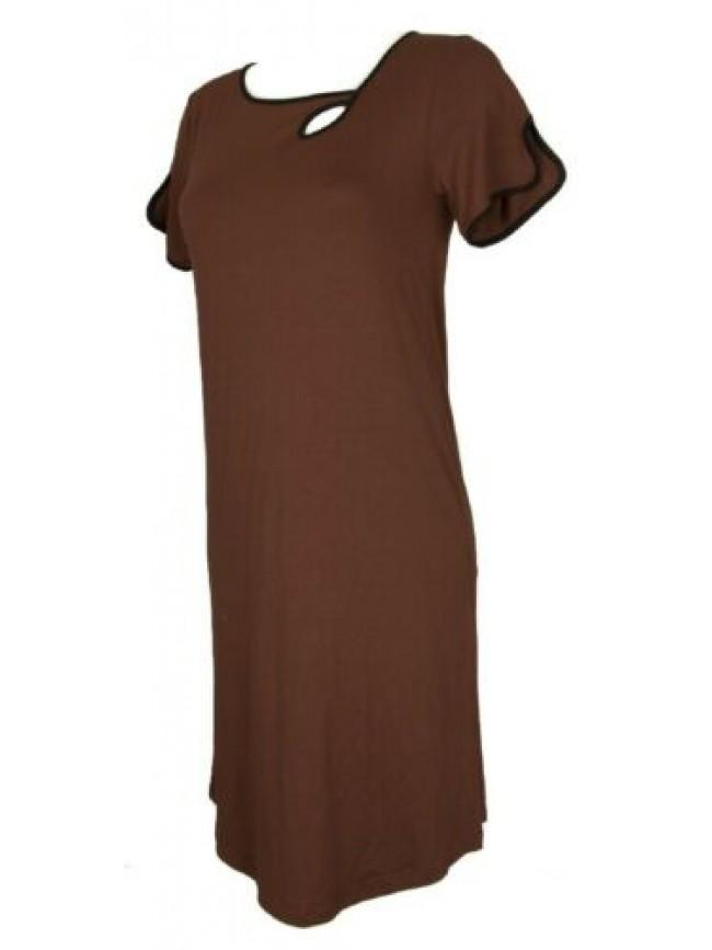 Abito manica corta in jersey di viscosa vestito donna RAGNO articolo 71326N made