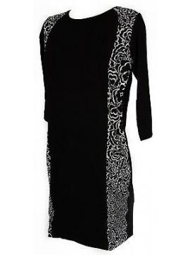 Abito vestito donna 3/4 dress RAGNO articolo 70339P taglia 7 / XXL colore 010F