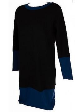 Abito vestito donna dress RAGNO art. 70347N taglia 7 / XXL colore 612F SPACE