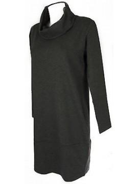 Abito vestito donna dress RAGNO art. 70347W taglia 5 / L colore 202M ARDESIA