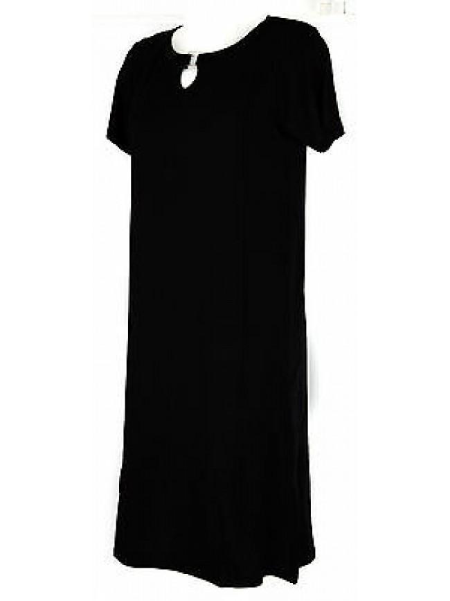 Abito vestito donna dress RAGNO articolo 70208N taglia 46 colore 020 NERO BLACK