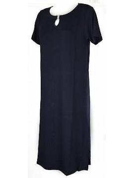 Abito vestito donna dress RAGNO articolo 70208N taglia 46 colore 637 BALTICO