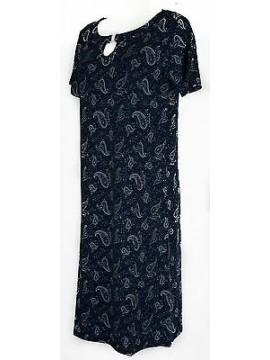 Abito vestito donna dress RAGNO articolo 70209N taglia 48 colore 110F ABISSO