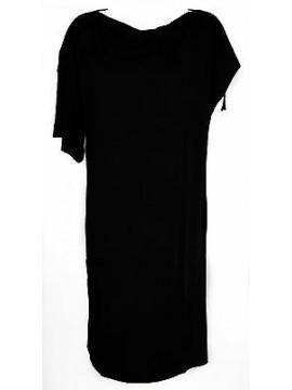 Abito vestito donna dress RAGNO articolo 70210W taglia 46 colore 020 NERO BLACK
