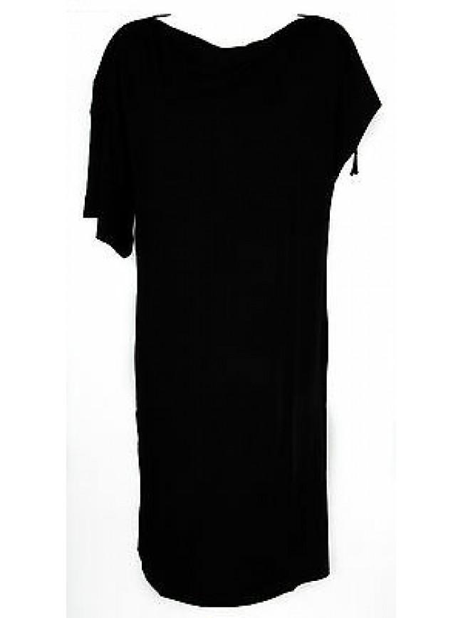 Abito vestito donna dress RAGNO articolo 70210W taglia 48 colore 020 NERO BLACK