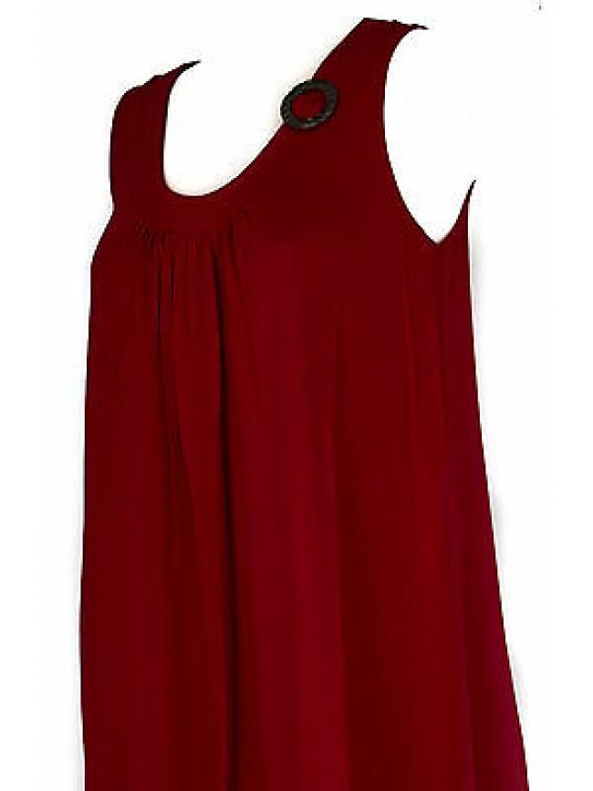 Abito vestito donna dress RAGNO articolo 70214P taglia 46 colore 640 COCCINELLA