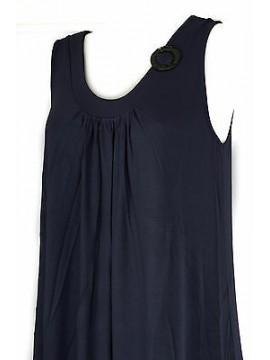 Abito vestito donna dress RAGNO articolo 70214P taglia 48 colore 637 BALTICO