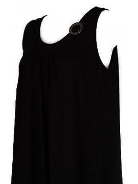 Abito vestito donna dress RAGNO articolo 70214P taglia 54 colore 020 NERO BLACK