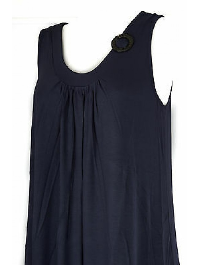 Abito vestito donna dress RAGNO articolo 70214P taglia 58 colore 637 BALTICO