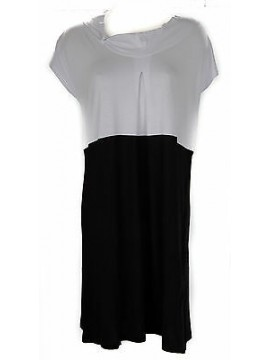 Abito vestito donna dress RAGNO articolo 70228N taglia 46 colore 020F NERO BLACK