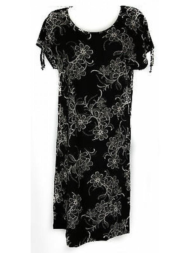 Abito vestito donna dress RAGNO articolo 70230N taglia 46 colore 020F NERO BLACK
