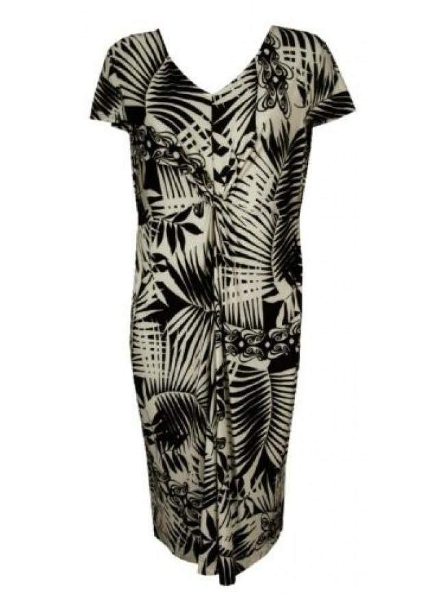Abito vestito donna dress RAGNO articolo 70232N taglia 48 colore 020F NERO BLACK