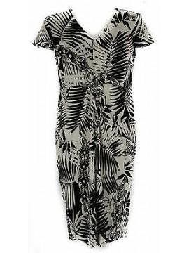 Abito vestito donna dress RAGNO articolo 70232N taglia 50 colore 020F NERO BLACK