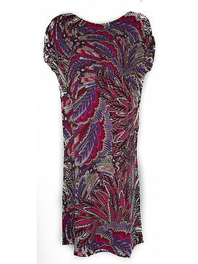 Abito vestito donna dress RAGNO articolo 70238N taglia 48 colore 668F BARBI