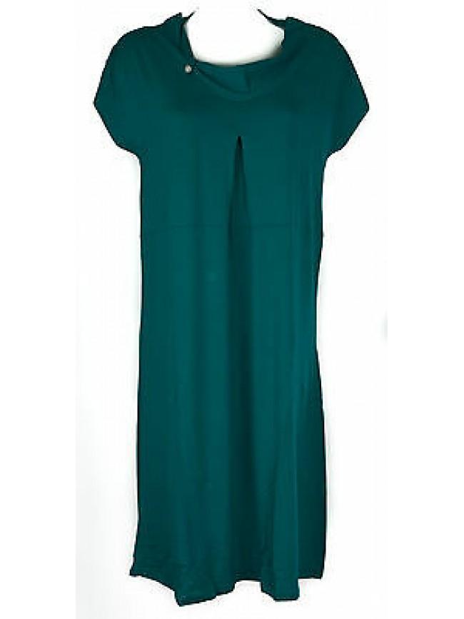 Abito vestito donna dress RAGNO articolo 70272N taglia 46 colore 648 VERDE ACQUA