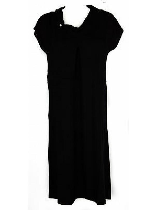 Abito vestito donna dress RAGNO articolo 70272N taglia 48 colore 020 NERO BLACK