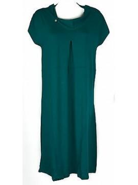 Abito vestito donna dress RAGNO articolo 70272N taglia 48 colore 648 VERDE ACQUA