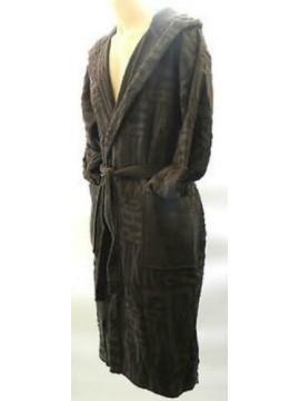 Accappatoio uomo bathrobe BIKKEMBERGS art.P784 H10 taglia M col.2100 grigio log