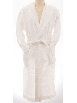 Accappatoio uomo bathrobe BIKKEMBERGS art.P784 H10 taglia S col.1100 bianco log