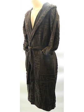 Accappatoio uomo bathrobe BIKKEMBERGS art.P784 H10 taglia S col.2100 grigio log