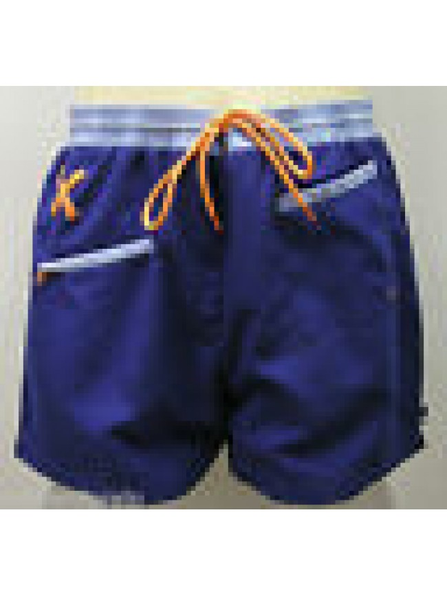 BOXER MARE BEACHWEAR SWIM SUITS TRUNK MAN PUNTO BLANCO 63159-60 T.S COL.199 BLU