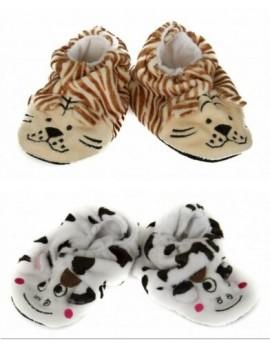Babbucce pantofole casa baby neonato/neonata antiscivolo CIOCCA articolo 3/504A