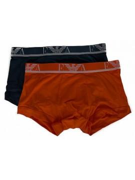 Bipack 2 boxer trunk EMPORIO ARMANI a. 111210 6P715 taglia S colore 17042 AV AR