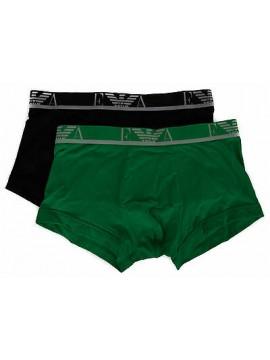 Bipack 2 boxer trunk EMPORIO ARMANI a. 111210 6P715 taglia S colore 38720 NE PR