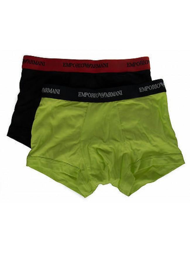 Bipack 2 boxer trunk EMPORIO ARMANI a. 111210 6P717 taglia S colore 30635 MA GI