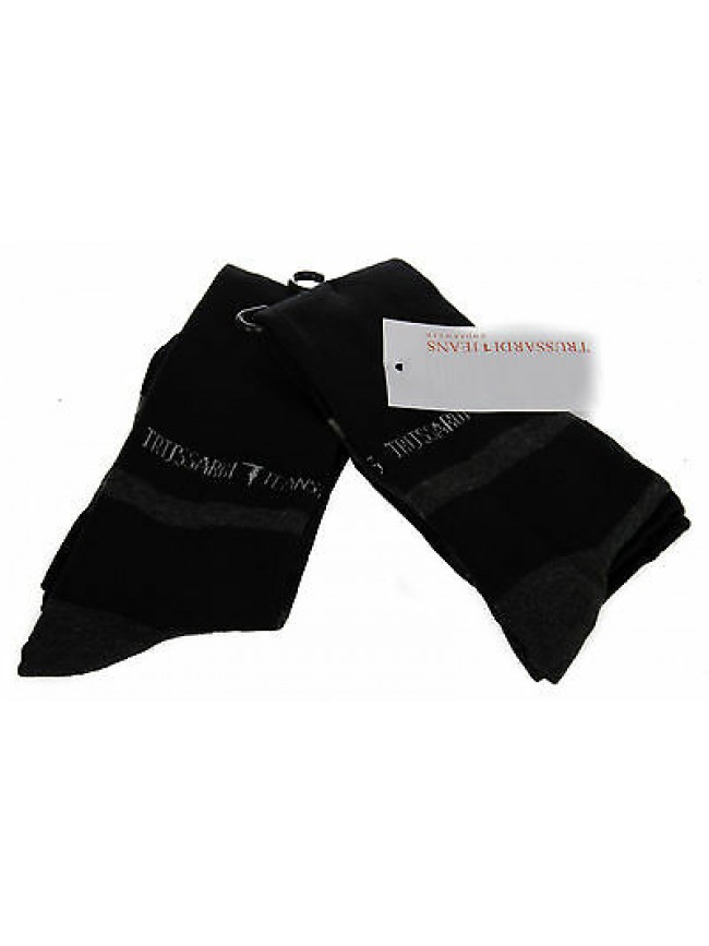 Bipack 2 calzino alto calza TRUSSARDI JEANS a. TR015S taglia II 39-42 col. 020B