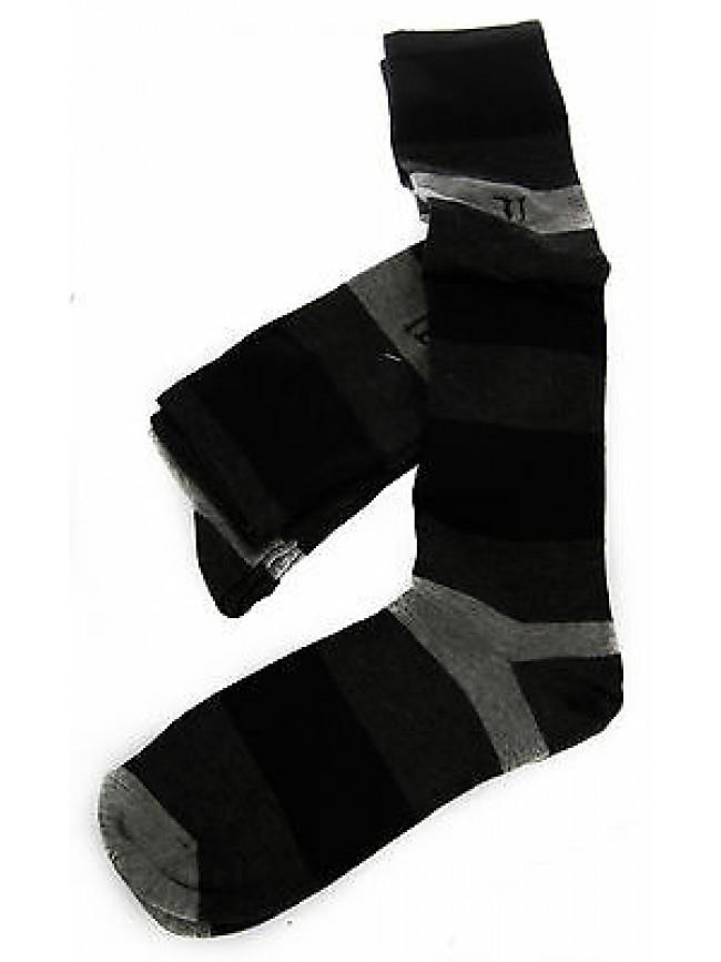 Bipack 2 calzino alto calza TRUSSARDI JEANS a. TR016S taglia II 39-42 c. 310MB
