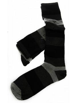 Bipack 2 calzino alto calza TRUSSARDI JEANS a. TR016S taglia III 43-46 c. 310MB