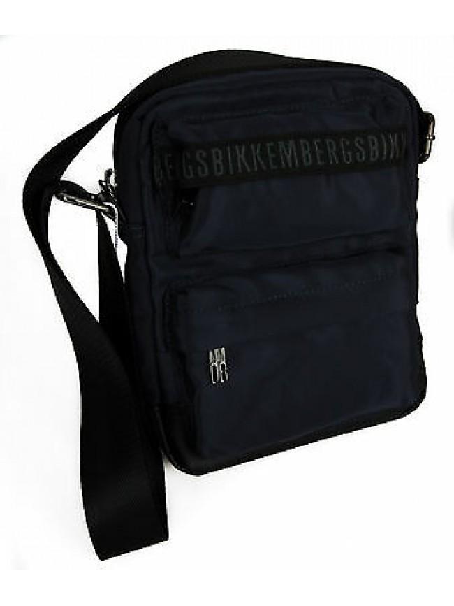 Borsa bag BIKKEMBERGS art. D0604 REPORTER colore D05 MIDNIGHT BLUE