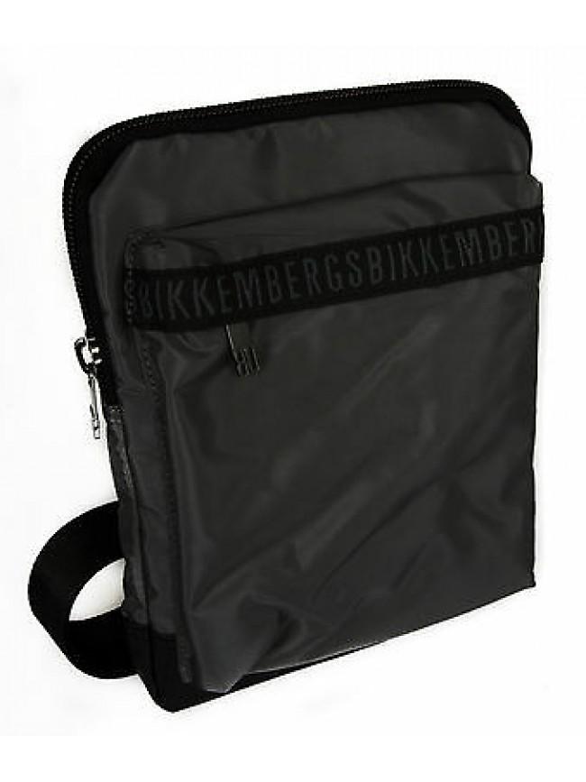 Borsa bag BIKKEMBERGS art. D0605 CROSSOVER colore D03 GRIGIO DARK GREY
