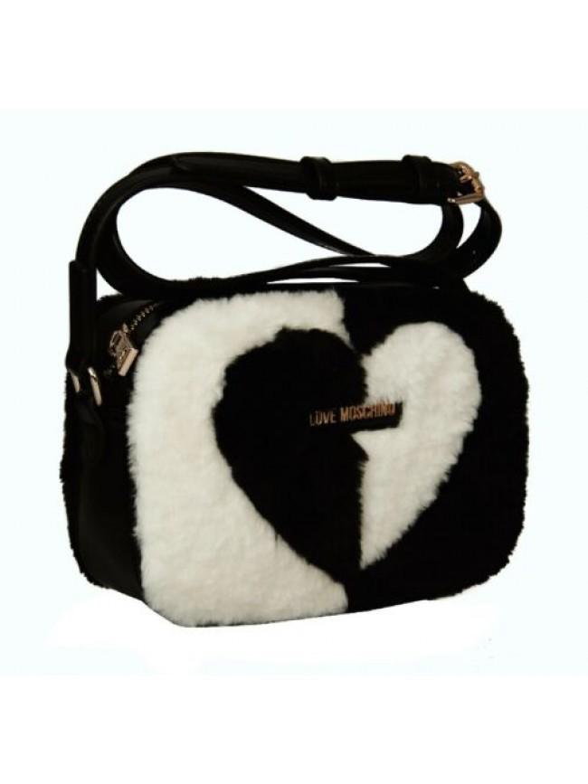 Borsa borsetta donna a mano o tracolla pelo LOVE MOSCHINO articolo JC4260PP0BKK