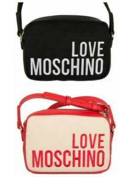 Borsa borsetta donna a spalla con tracolla LOVE MOSCHINO articolo JC4153PP17LO B
