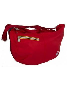 Borsa donna bag K-WAY a.3AKK0613 LIGHT HOBO 40x23x13 colore A4 ROSSO