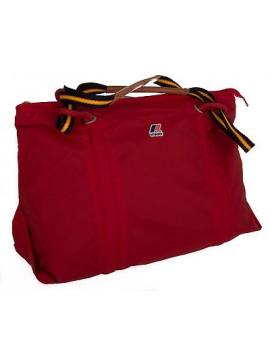 Borsa donna bag K-WAY art.3AKK4002 E/W SHOPPER 45x38x16 colore A4 ROSSO