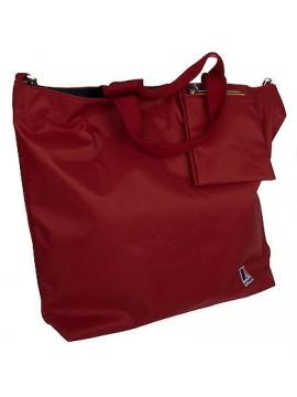 Borsa donna bag K-WAY art.3BKK0414 N/S SHOPPER 45x39x11 colore A8 ROSSO