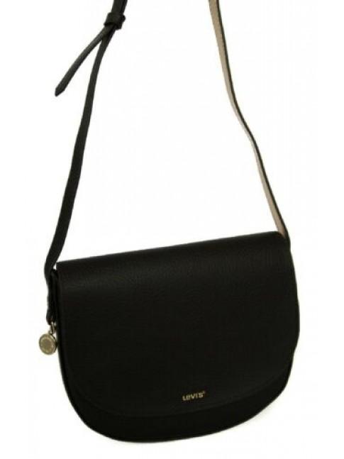 Borsa donna borsetta con tracolla LEVI'S articolo 231080 sally saddle bag vegan