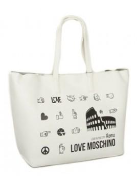 Borsa donna tote a mano o a spalla Roma LOVE MOSCHINO articolo JC4090PP17LK BORS