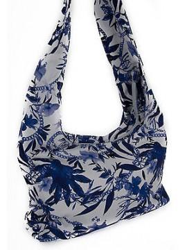Borsa mare donna beachwear bag GUESS articolo E62Z12 CNV02 colore PB70 MAIOLICA
