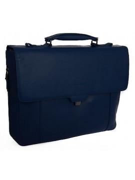 Borsa messenger cartella notebook bag PIQUADRO articolo CA3111S73 colore BLU2