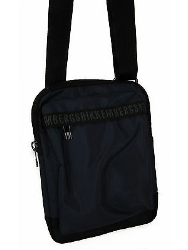 Borsa tracolla bag BIKKEMBERGS art. 6ADD0615 CROSSOVER colore D05 MIDNIGHT BLUE