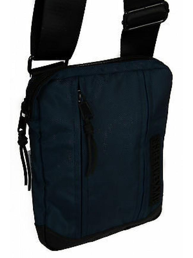 Borsa tracolla bag BIKKEMBERGS articolo 5BDD0707 CROSSOVER colore D05 MID BLUE