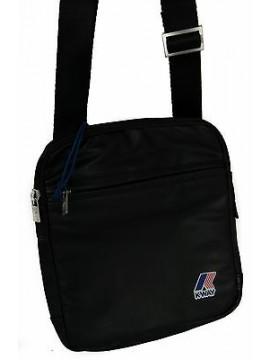 Borsa tracolla bag K-WAY 3BKK4606 SMALL CROSSBODY 22x20x2 c.A2 NERO BLACK