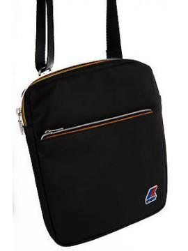Borsa tracolla bag K-WAY a.3BKK1613 SMALL CROSSBODY 26x21x3 col.D1 BLACK