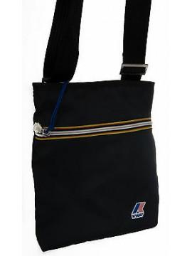 Borsa tracolla bag K-WAY a.3BKK5409 FLAT CROSSOVER 28x23x3 col.A3 NAVY
