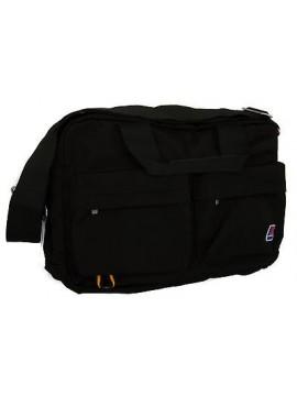 Borsa tracolla bag K-WAY a.4AKK5702 BRIEFCASE 40x28x9 col.A2 NERO BLACK